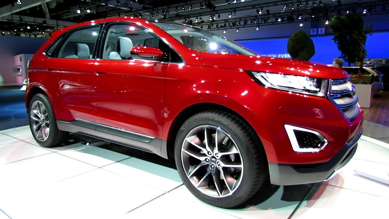 Ford Edge Concept Exterior And Interior Walkaround Debut At  La Auto Show Youtube