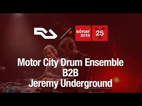 RA : Motor City Drum Ensemble and Jeremy Underground at Sónar 2018