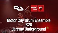 RA Live: Motor City Drum Ensemble and Jeremy Underground at Sónar 2018