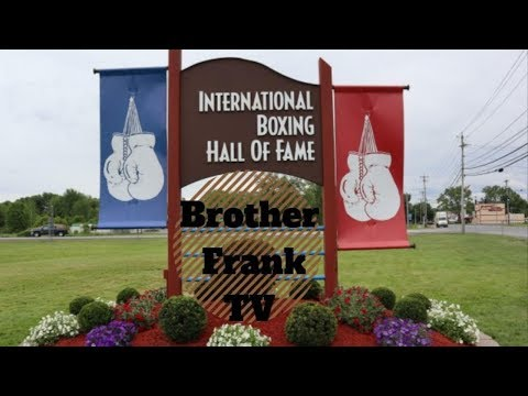 Boxing Hall Of Fame (World's Most Famous Arena)...OMG!!!