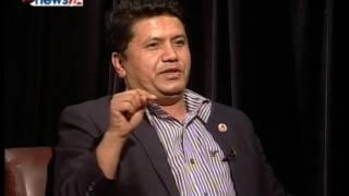 'Development Discussion' with Rabindra Adhikari. REAL FACE, Presenter : Prem Baniya.