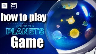 How to play mi color our planet game,mi fan festival 2018