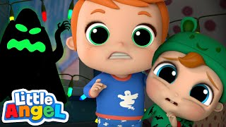 Monsters In The Dark | Little Angel Kids Songs & Nursery Rhymes