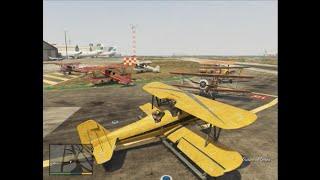 【GTA5実況:SAで逢いましょう】 #246 複翼機は意外とカラフル!!