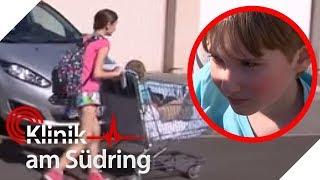 Markus (6) fährt im Einkaufswagen zum Arzt | Klinik am Südring - Die Familienhelfer | SAT.1 TV