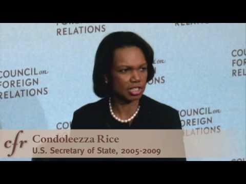 Condoleezza Rice at CFR: Dealing with North Korea and Iran