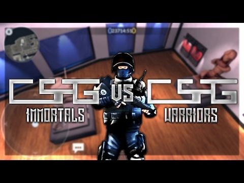 Critical Ops - CsPG Warriors VS CsPG Immortals