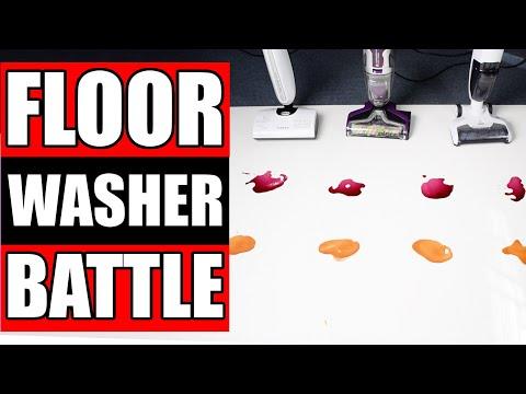 Bissell Crosswave Pet Pro vs Hizero vs Tineco Ifloor - TESTED