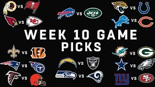 Week 10 NFL Game Picks | NFL