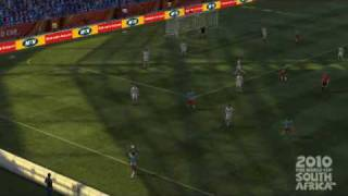 2010 FIFA World Cup Game - Delap style DR Congo goal vs USA in Group Stage