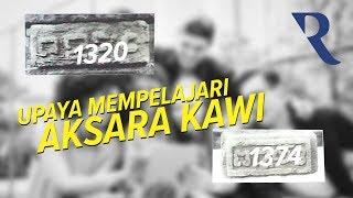 Aksara Kawi, Upaya Mempelajari Bahasa Mati