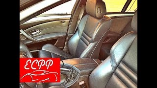 My E60 M5 Seat Party Trick | Active Seat Bolsters