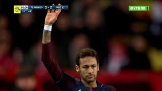Neymar vs Monaco (A) 17-18 – Ligue 1 HD 1080i by Guilherme