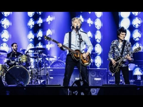 Lee Valsvik - Ringo & Ronnie join Sir Paul on stage at the O2 London!