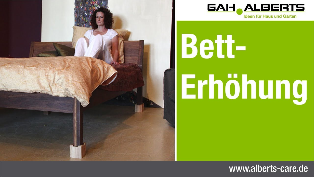 alberts care - bett-erhöhung - youtube