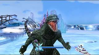 Godzilla Unleashed: Godzilla 2000 Walkthrough