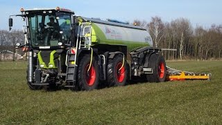 Mest 2016  Unicom Oost  Claas xerion saddle trac