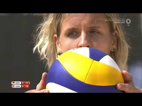 Beach Volleyball Shorts   Vienna 2017 World Championships Women's Gold Medal Match