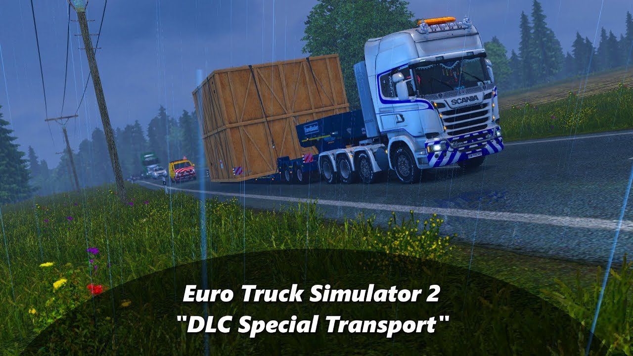 Euro Truck Simulator 2 23 Dlc Special Transport Youtube