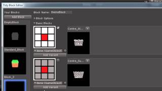 Tutorial One: Creating custom blocks in Tidy Tile Mapper