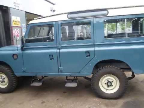 Liveridge Land Rover Fully Rebuilt 109 Station Wagon - YouTube