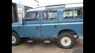 Liveridge Land Rover Fully Rebuilt 109 Station Wagon