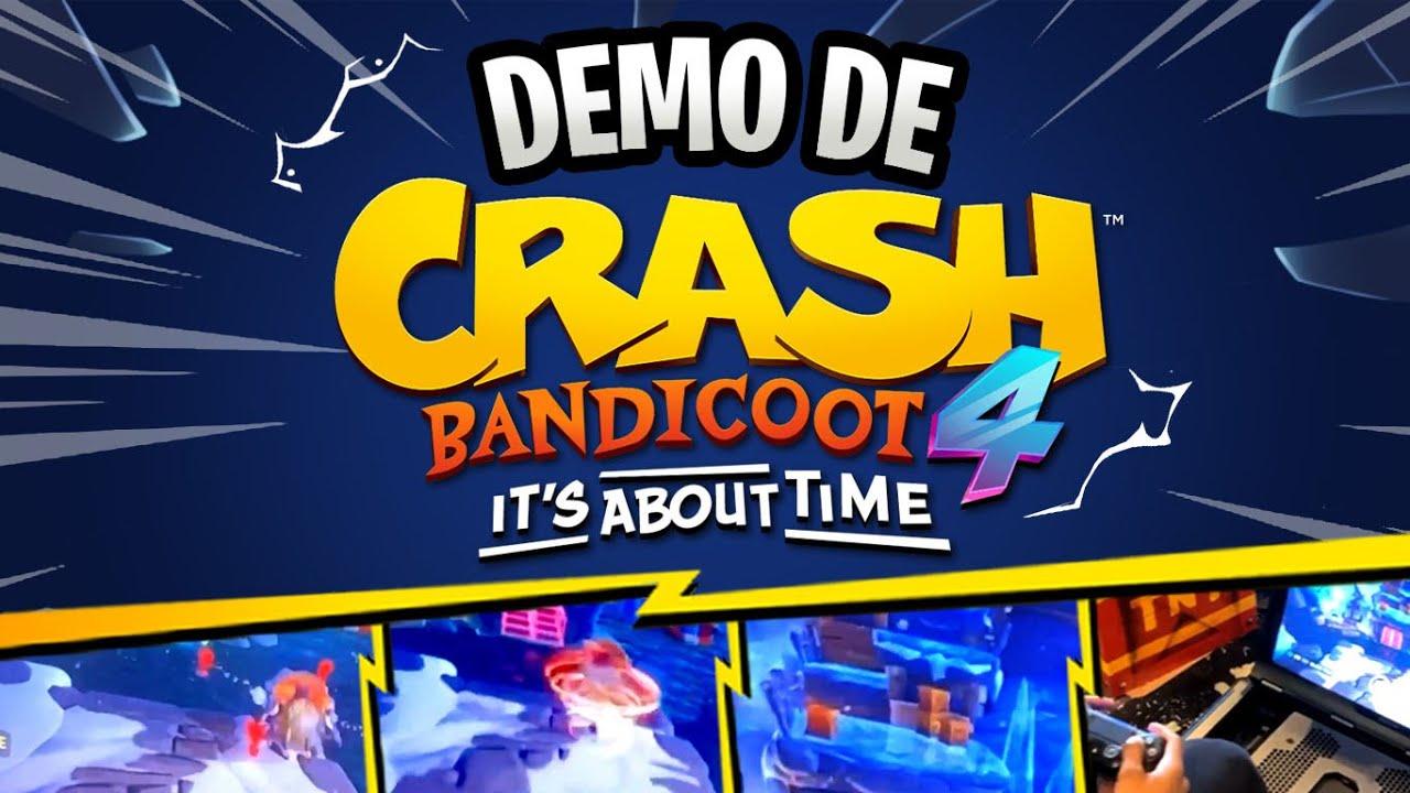DEMO DE CRASH BANDICOOT 4 ITS ABOUT TIME