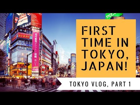 Travel Vlog: First Time in Tokyo!