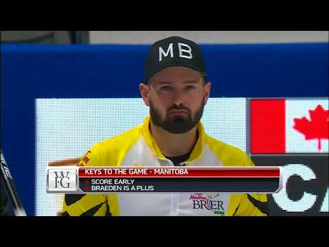 Gushue (CA) vs. Carruthers (MB) - 2018 Tim Hortons Brier - Draw 16