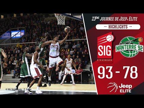 SIG Strasbourg-Nanterre 92: highlights et réactions de Damien Inglis