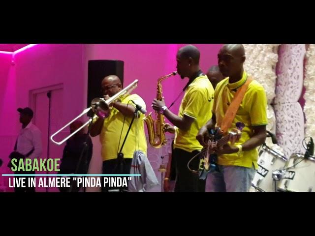 Sabakoe live Pinda pinda