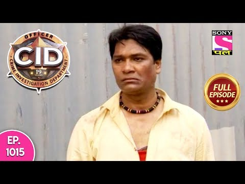 CID - Full Episode 1015 - 8th November, 2018