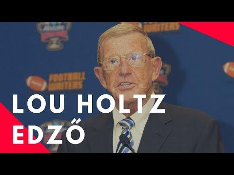 """Lou Holtz edző: """"3 szabály, amit bárcsak tudtam volna 21 évesen"""""""