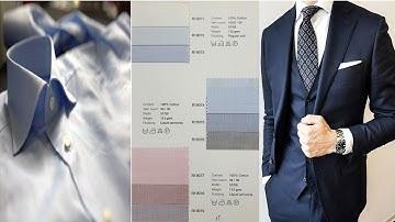 남성정장 기본색상 네이비 색상 디자인 슈트 코디방법