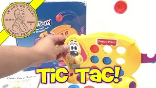 Fisher-price Tic Tac Tony Game # 78875, 2000 Mattel - A Friendly Puppy With Tail-flipping Tail