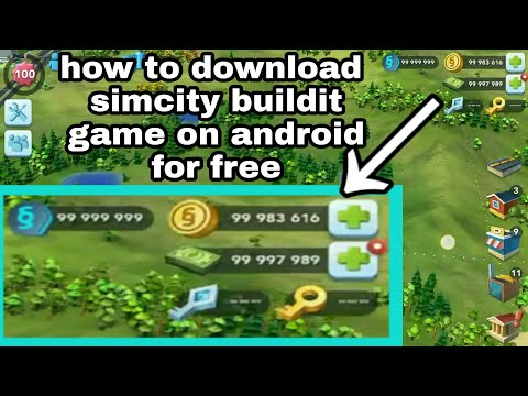 GAME MOD - CARA DOWNLOAD GAME SIMCITY MOD FOR ANDROID FREE ( UNLIMITED MONEY,DOLAR DAN LAIN-LAIN ) - 동영상