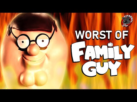 Top 10 WORST Family Guy Episodes Ever (As ranked by a pretentious liberal dog)Kaynak: YouTube · Süre: 14 dakika54 saniye