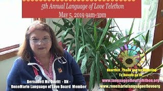 "Preventative Healthcare -Bernadett Mcdavitt- Spot Light ""Language of Love Telethon"