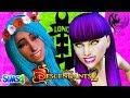 DESCENDANTS 2 - Sims 4   MAL AND UMA FIGHT AT COTILLION   Disney's Descendants