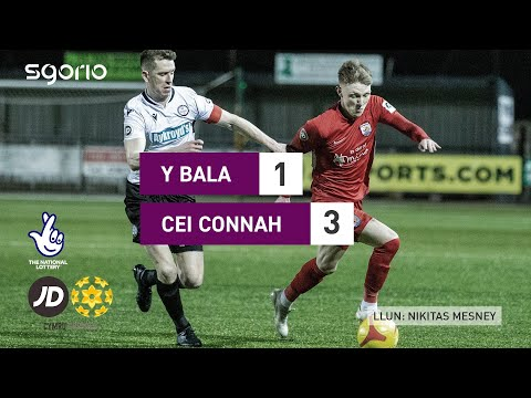 Bala Town Connahs Q. Goals And Highlights