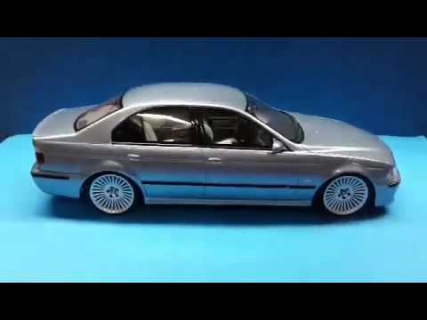 bmw 1 18 e39 m5 styling 176 bmw diecast tuning youtube. Black Bedroom Furniture Sets. Home Design Ideas