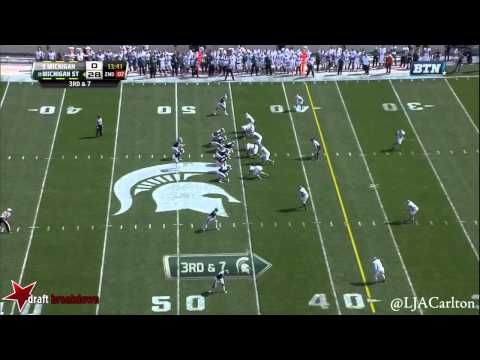 Willie Creear vs. Michigan State (2014)