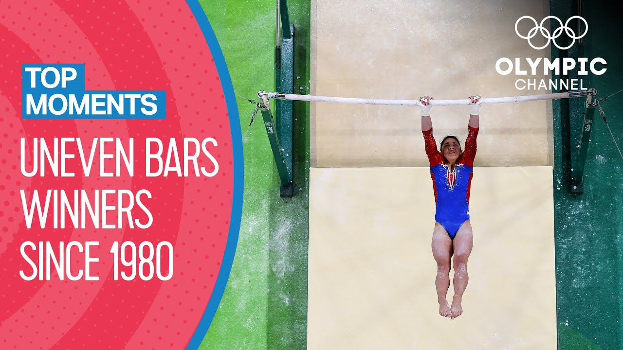 Download Last 10 Women's Uneven Bars Winners at the Olympics   Top Moments