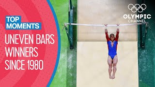 Last 10 Women's Uneven Bars Winners at the Olympics | Top Moments