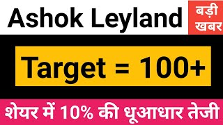 Ashok Leyland Share Latest News In Hindi By Guide To Investing