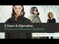 9 Down & Alternative Featured Women Jackets Amazon Fashion, Winter 2017