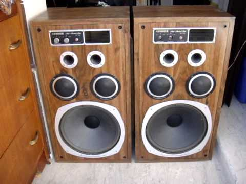 vintage-fisher-speakers-st-780-speakers-usa-music-sound-how-playing