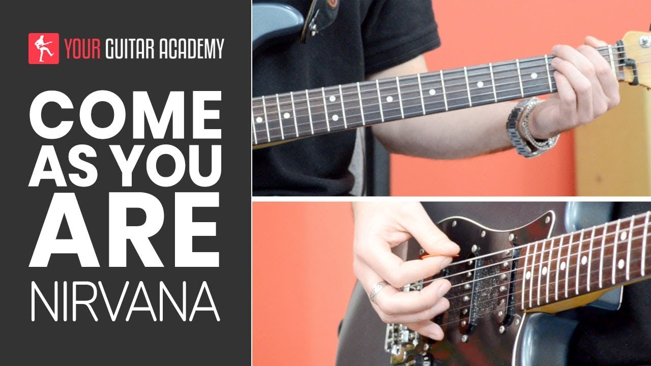 Come As You Are Guitar Lesson How To Play Come As You Are By Nirvana Youtube