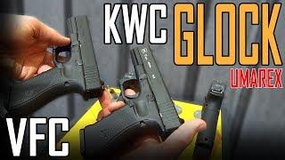 IWA 2018 - AIRSOFT  GLOCK 34 VFC KWC Glock 17 - UMAREX
