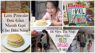 Cuối Tuần Đi Siêu Thị Daiso ♥ Haul Thức Ăn Và Đồ Dùng ♥ Làm Pancake Cho Breakfast | mattalehang